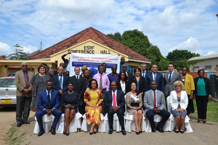 Atelier franco tanzanien sur la formation professionnelle for Centre francais du commerce exterieur