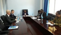 Meeting between Ambassador Frédéric Clavier and the Tanzania Academy of (...)