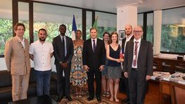 A strong involvement of French and Tanzanian universities for the new (...)