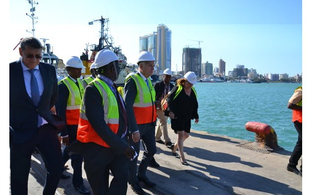 Visit of the port of Dar es Salaam