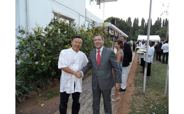 Mr. Escure and the Chinease Ambassador